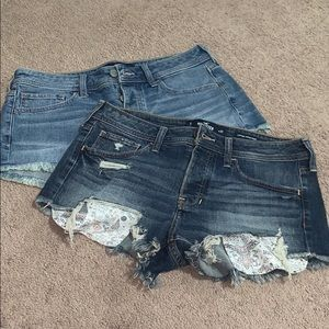 2 Pairs Of Jean Shorts!